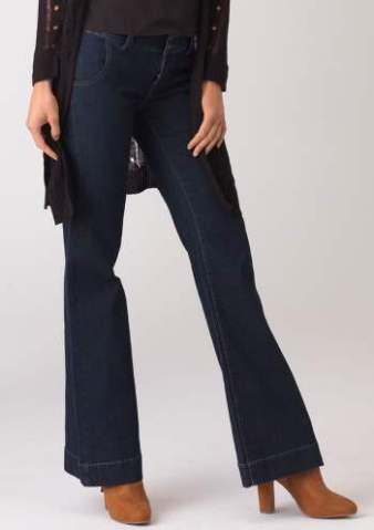Plus Size Tall Jeans - Women's Boot-Cut, Flared, & Skinny Denim Styles