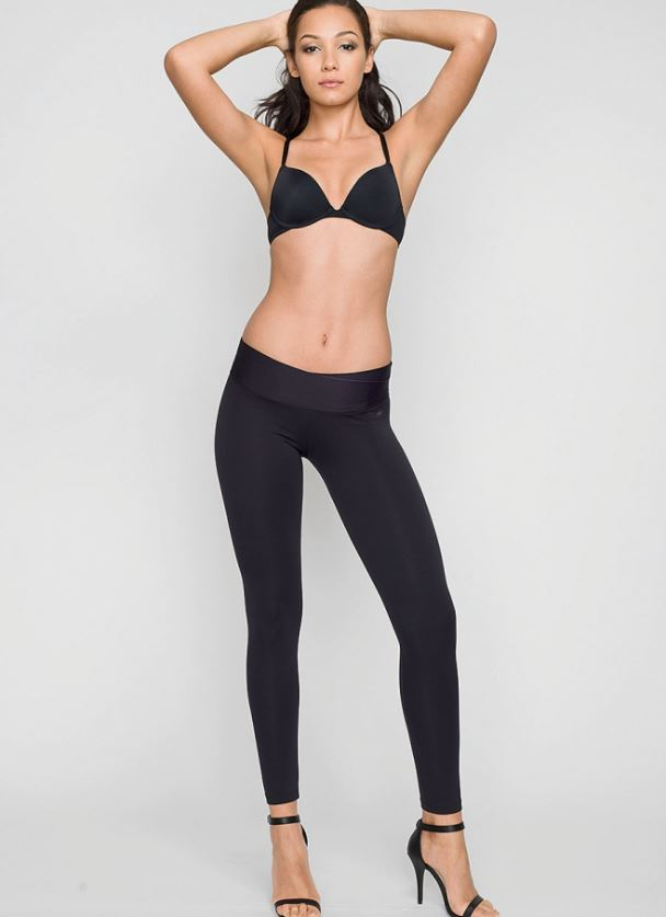 Alloy Apparel's Shape Crossover Waistband Legging in Tall