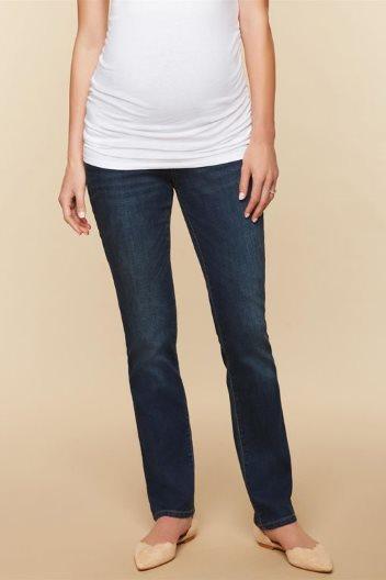 5c879f79448eb Tall Maternity Jeans – Trendy Long Inseam Pregnancy Denim
