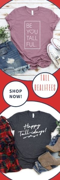 Find tall-inspired unique graphic t-shirts at Tall Reali-tees!
