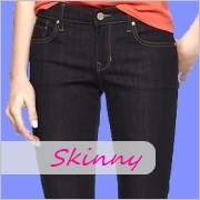 Ladies tall skinny jeans