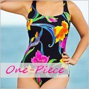 Long torso one-piece swimwear