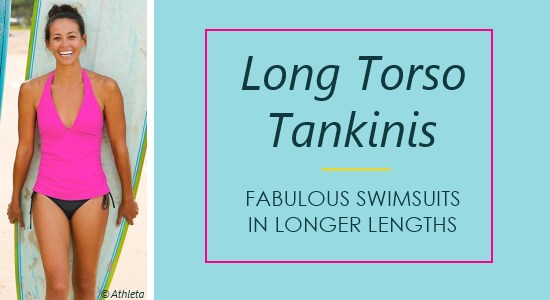Long torso tankini swimwear is a great option for those wanting both comfort and coverage in a swimsuit.