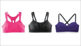 A review of sports bras for long torso women.