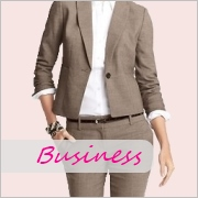 Businesswear and suits for tall women