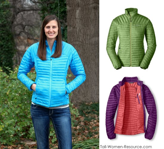 Eddie Bauer's MicroTherm® StormDown® Jacket in Women's Tall
