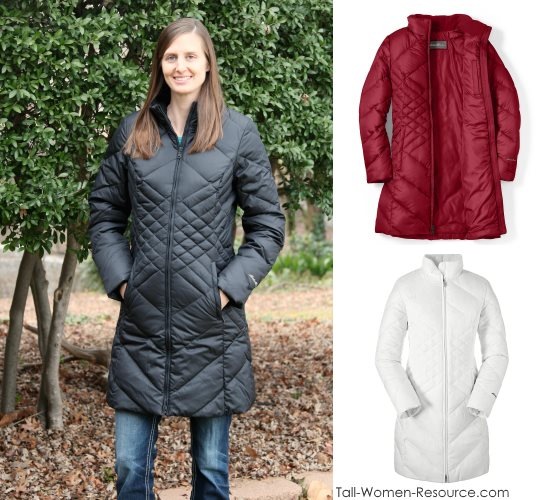 Eddie Buaer's Essential Down Parka in Women's Tall