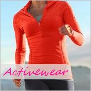Tall women's activewear