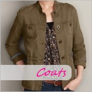 Tall women's coats