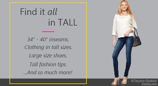 Tall Women Resource - Elevate Your Look. Elevate Your Life.