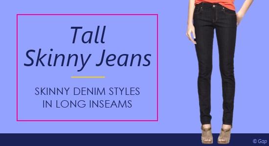 92103f1f01c Tall Women s Skinny Jeans