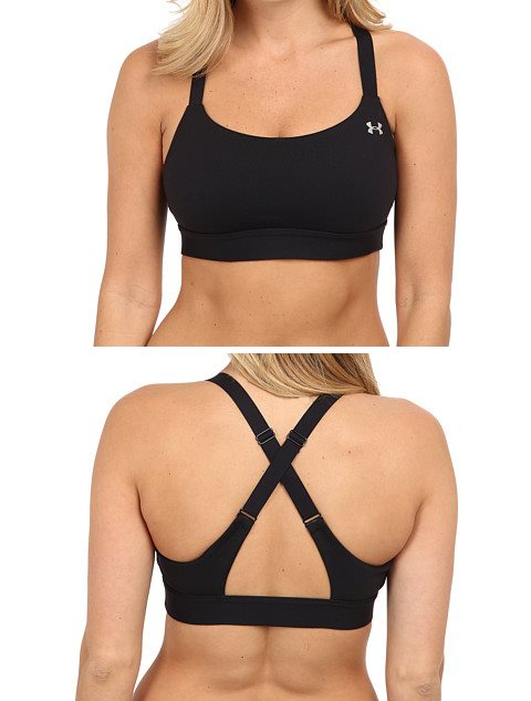 The Under Armour Eclipse Bra works well for long torsos.