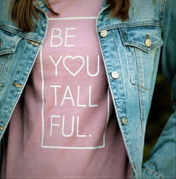Be-You-Tall-Full unique graphic t-shirt from Tall Reali-tees