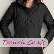 Tall ladies trench coats