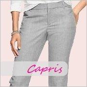 Ladies tall capris