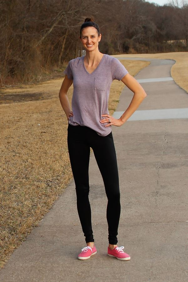 Tall shapewear leggings from Alloy Apparel.