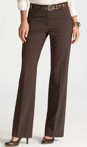 Tall wool trousers by Ann Taylor.
